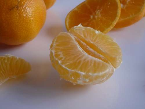 Fruit Health Orange Vitamins The Richness Of