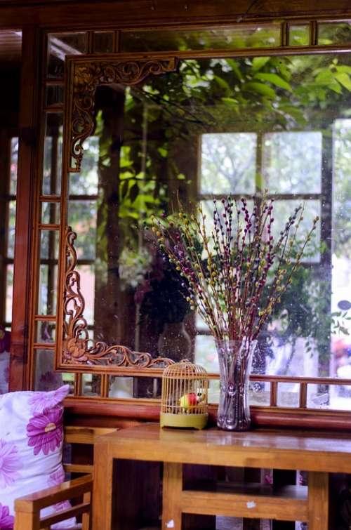 Furnishings Flower Window Sill