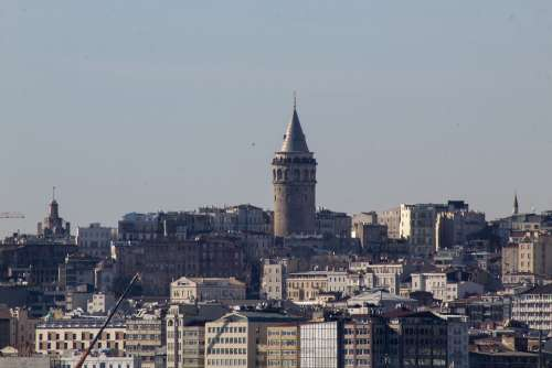 Galata Tower Istanbul Date Karaköy Eminönü Turkey