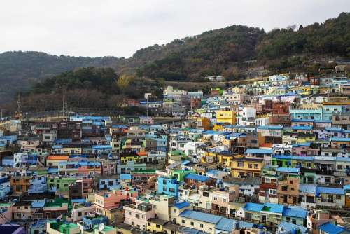 Gamcheon Village Busan City View La Spezia