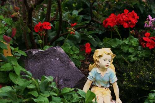 Garden Fairy Summer Fantasy Flowers Dreamy