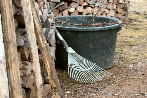 Gardening Computing Raking Leaves Vat Garden Tool