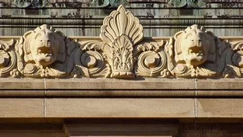 Gargoyles Lions Architecture Building Sculpture