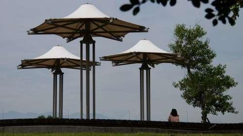 Gazebo Pavilion Park Rest Leisure Tourism Travel