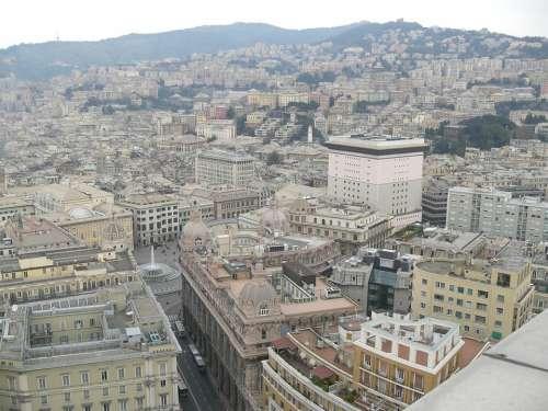 Genoa Italy Overview Center City
