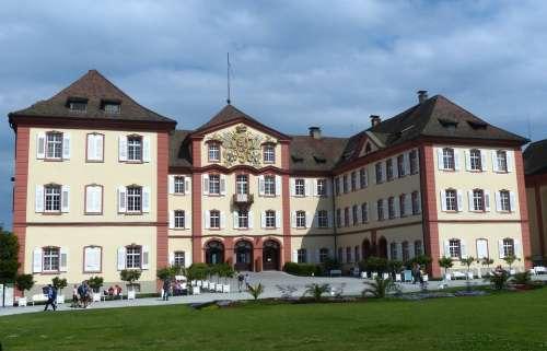 German Order Castle Villa Castle Mainau Island