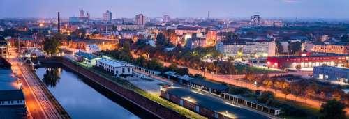 Germany Magdeburg Saxony-Anhalt City City View