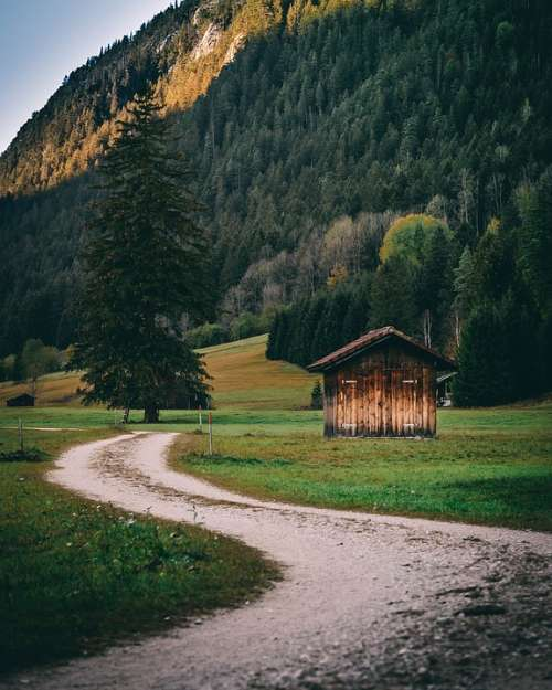 Germany Pfronten Mountains Landscape Hiking Allgäu