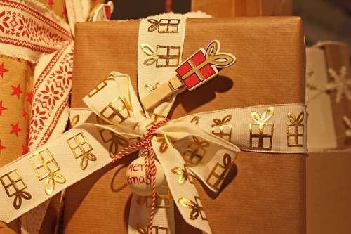 Gift Christmas Gift Give Away Surprise Christmas