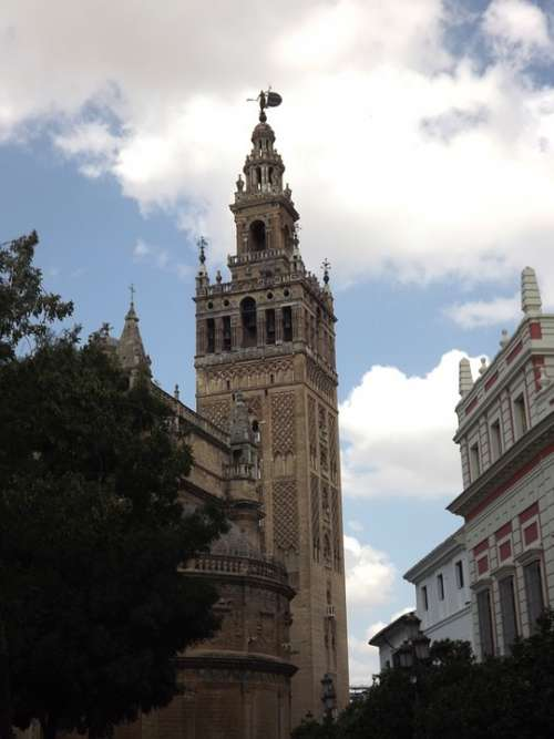 Giralda Seville Cathedral Monuments Andalusia