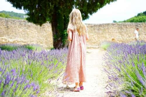 Girl Person Child Summer Dress Summer Idyll