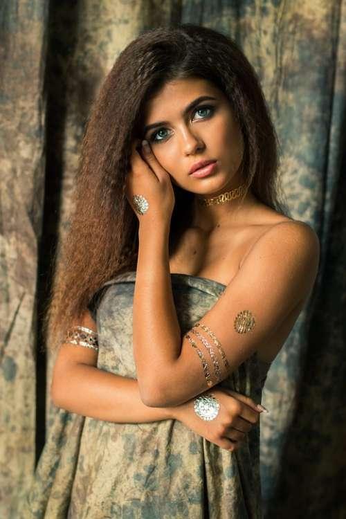 Girl Fashion Makeup Beauty Model Woman Female