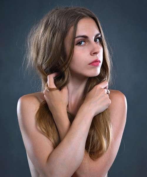 Girl Beauty Woman Portrait Portrait Of A Woman