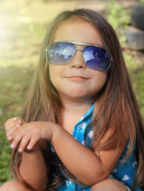 Girl Portrait Hair Attractive Kids Face Model