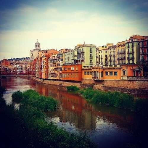 Girona Onyar Landscape