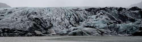 Glacier Iceland Ice Landscape Cold Outdoor