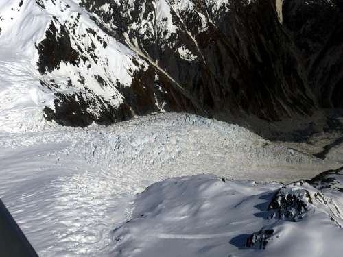 Glacier Mount Cook New Zealand Southern Alps Nature