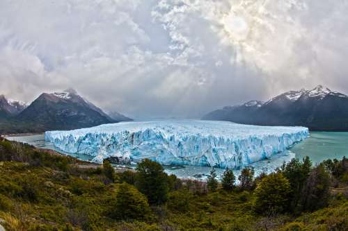 Glacier Argentina South America Patagonia Ice