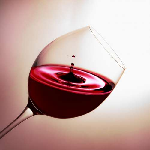 Glass Wine Drip Red Wine Drink Liquid Alcohol
