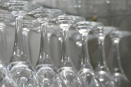 Glass Drink Wine Transparent Bar Crystal Glass