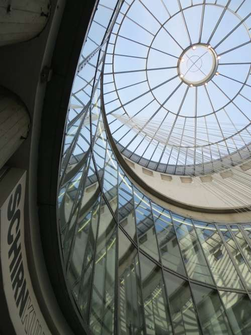 Glass Dome Frankfurt Museum Schirn City Art