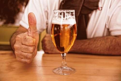 Glass Of Beer Beer Glass Alcohol Drink Beverage