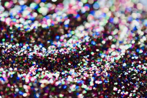 Glitter Waves Shines Color Wallpaper Blur Macro