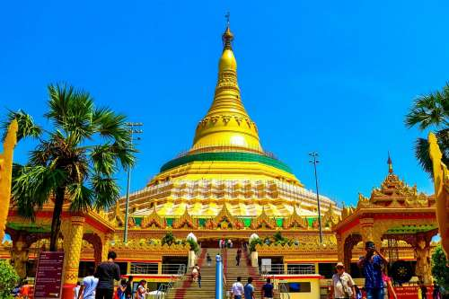 Global Pagoda Buddha Medication Yoga Life