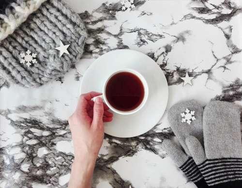 Gloves Mittens Cap Clothing Tea Tea Party Winter