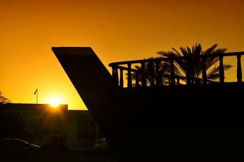 Golden Sunset Beautiful Sunset Landscape Sun Sky