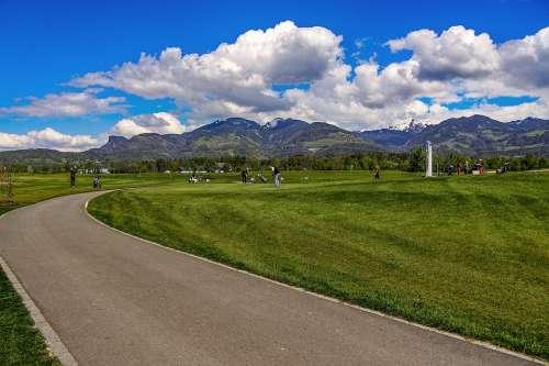 Golf Sport Grass Tee Green Hobby Leisure