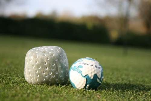Golf Golf Ball Sport Green Space Golf Game Rush