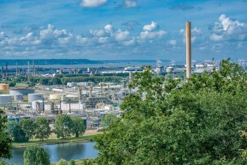 Gonfreville Wood France Nature Factory Industry
