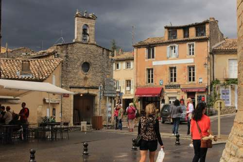 Gordes Market Square Provence France