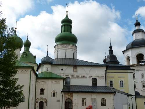 Goritsy Monastery Russia Religion Orthodox