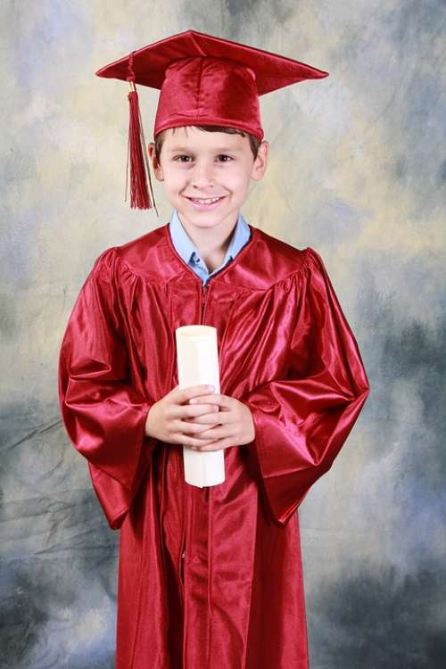 Graduation Kindergarten Graduation Boy Education