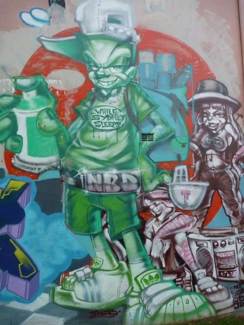 Graffiti Street Art Cool Colorful