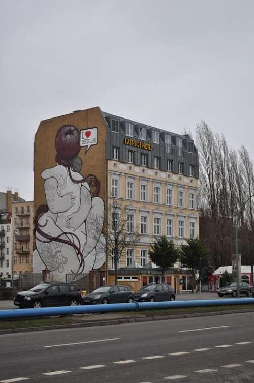 Graffiti Berlin Urban Germany Freedom Symbol
