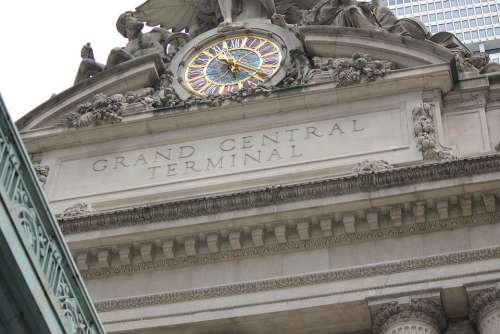 Grand Central Terminal Clock Subway Sculpture