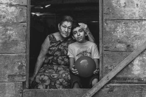 Grandmother Nieto Grandparents Happy Child Elderly