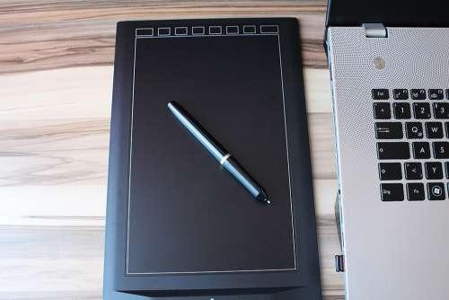 Graphics Tablet Graphic Pen Laptop Pc