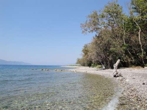 Greece Beach Sea Water