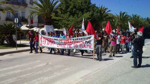 Greece Demonstration May 1