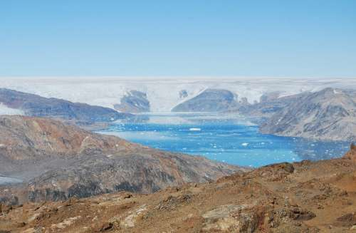 Greenland Ice Cap Iceberg Ice Arctic Landscape