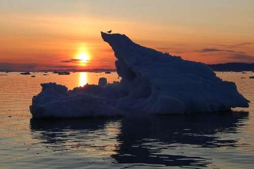 Greenland Ilulissat Arctic Iceberg The Midnight Sun