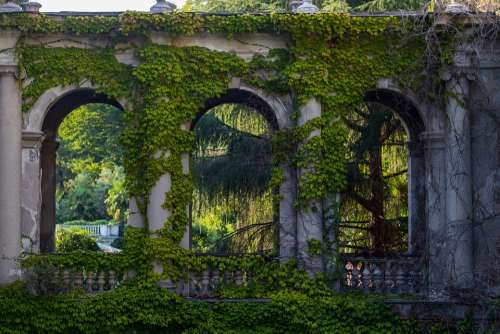 Greens Abandoned House The Ruins Of The