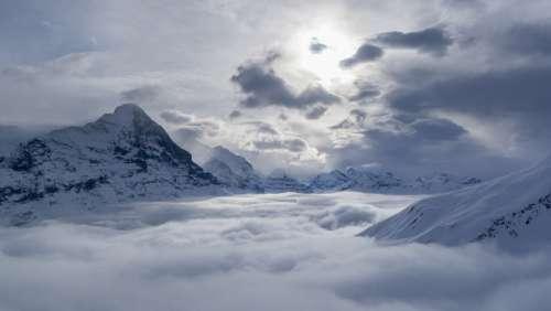 Grindelwald Eiger Switzerland Mountains Alpine