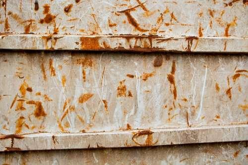 Grunge Dumpster Rust Wallpaper Paint