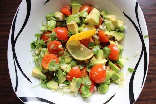 Guacamole Raw Food A Healthy Diet Vegetarian