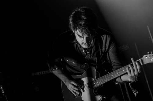 Guitar Guitarist Man Music Musical Instrument